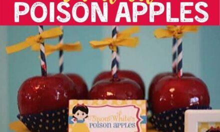 Snow White Poison Apples Recipe