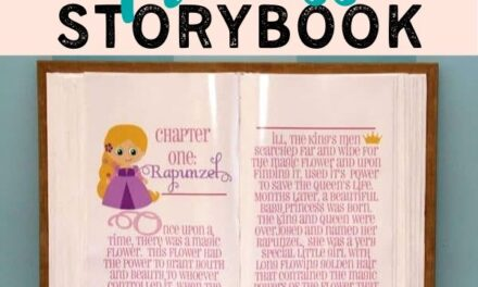 DIY Giant Storybook Tutorial for a Princess Party