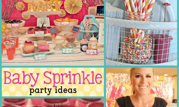 Baby Shower: DIY Cupcake Bar and Baby Sprinkle