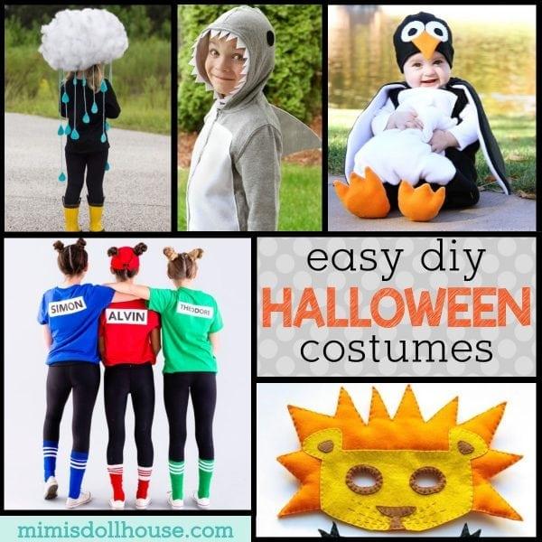 Kid Friendly Diy Halloween Costumes Mimi S Dollhouse