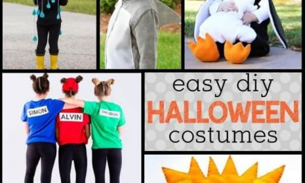 Kid-friendly DIY Halloween Costumes