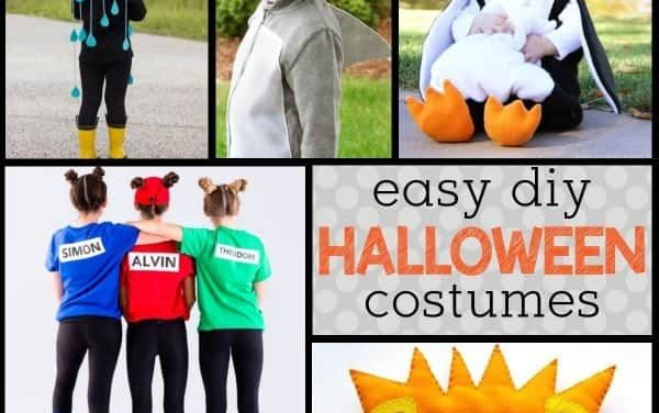 Kid-friendly DIY Halloween Costumes