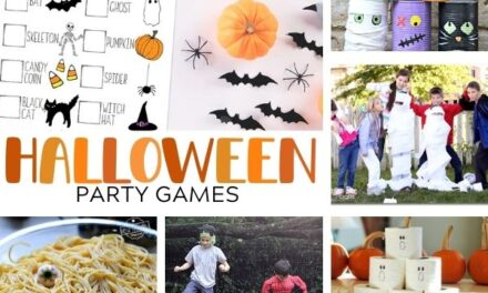 16 Spooky Fun Halloween Games for Kids