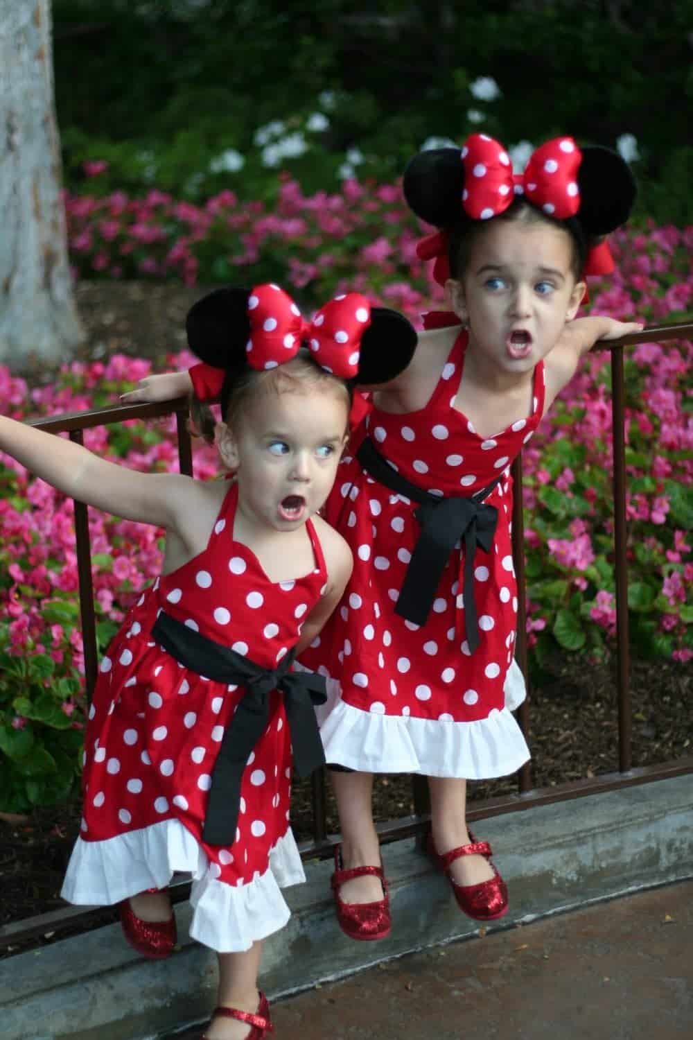 Halloween: Look…Minnie Mouse times two!!