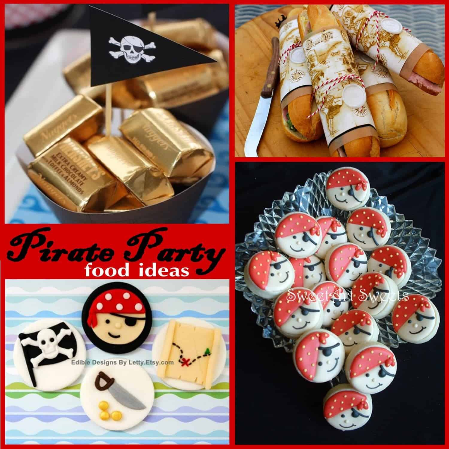 Pirate Party: Yo Ho Ho…Pirate Party Food Ideas