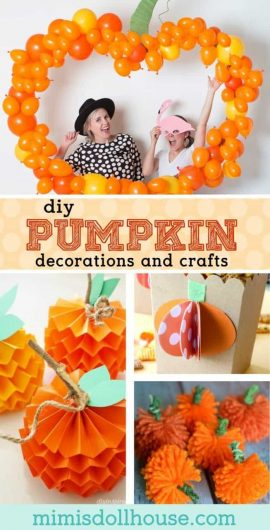 Pumpkin Party: Pumpkin Party Ideas and Crafts.  Need pumpkin party ideas for a cute fall birthday party?  How about a Pumpkin Party?  Celebrate your little pumpkin in style! #halloween #fall #autumn #party #parties #crafts #diy #thanksgiving #pumpkin