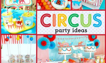 Come one, come all to the Circus Birthday