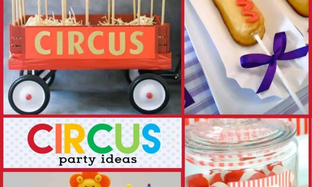 Clown Around with Amazing Circus Party Ideas