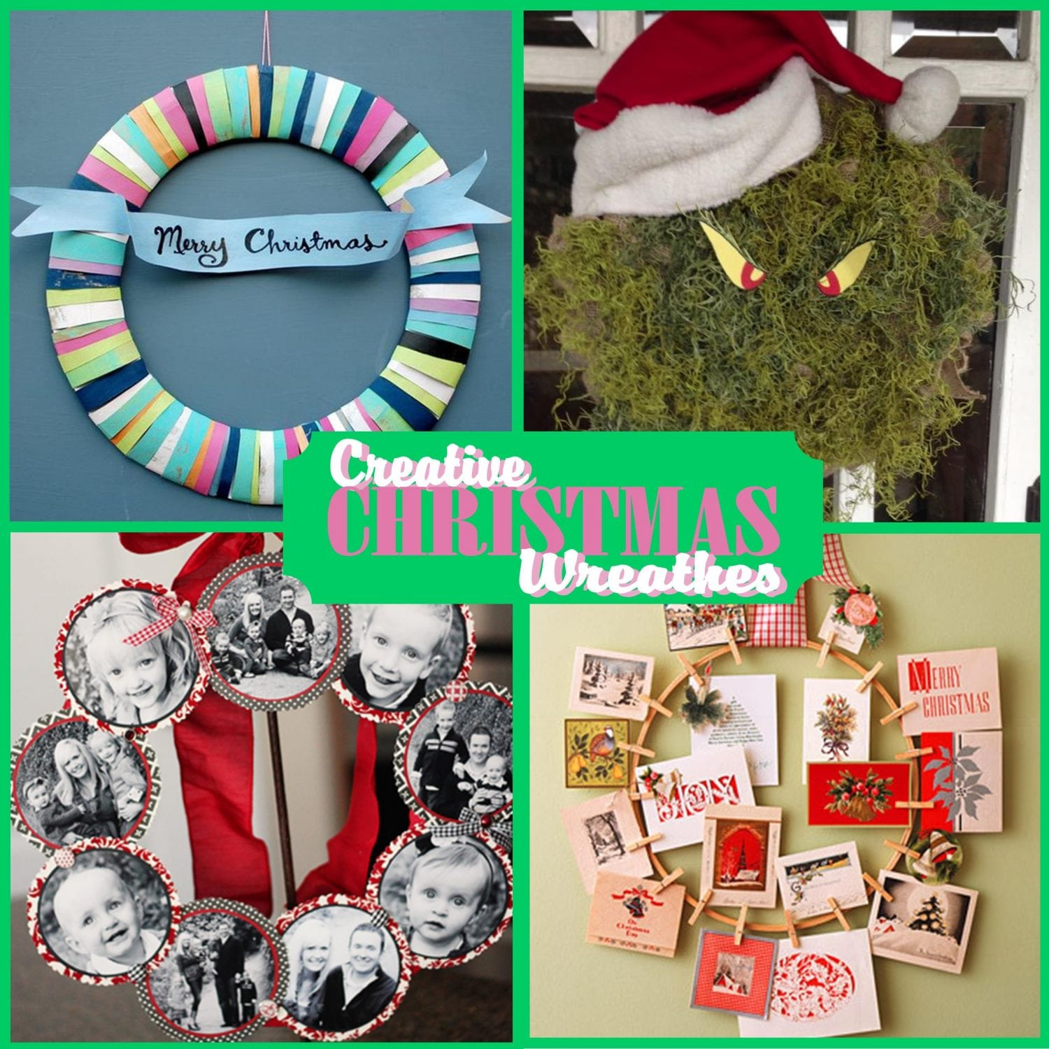 Christmas Wreath: Hang some Holiday Cheer on your door