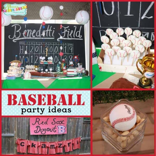 Baseball Party Braylons All Star Baseball Bash Mimis Dollhouse