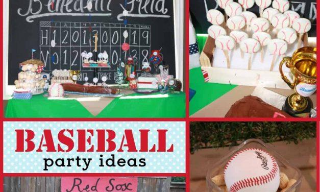 All-Star Baseball Party + Baseball Wreath Tutorial