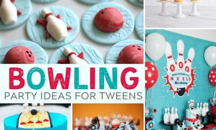 Striking Bowling Party Ideas for Tweens!