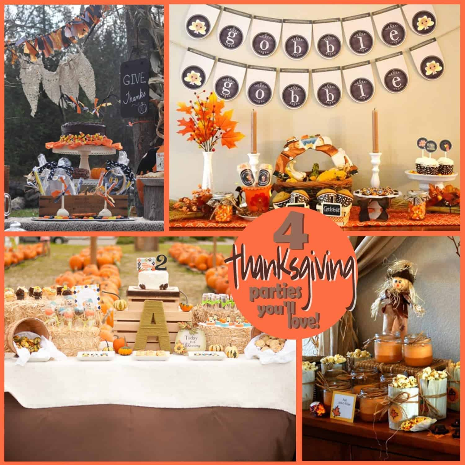 Thanksgiving Party: Four Parties to be Thankful for…
