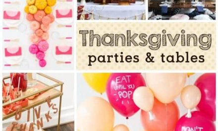 Thanksgiving: Trends for Thanksgiving Parties & Friendsgiving Tables