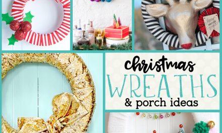 Christmas Wreath: DIY Christmas Wreathes and Holiday Door Hangers