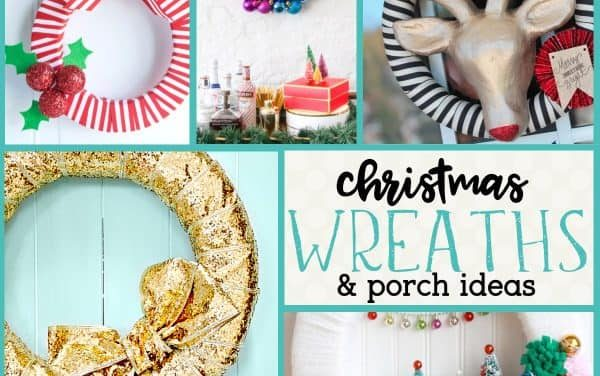 Christmas Wreath: DIY Christmas Wreathes and Holiday Door Hangers