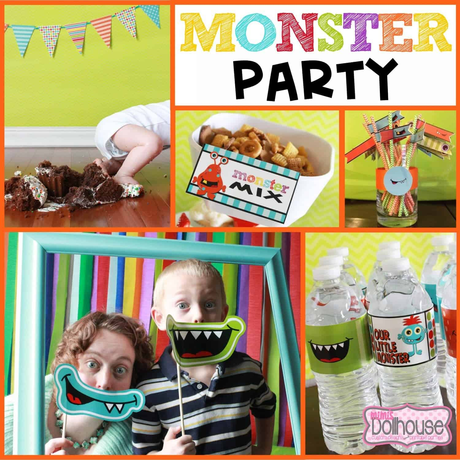 Monster Party: It's a Monster Bash!!