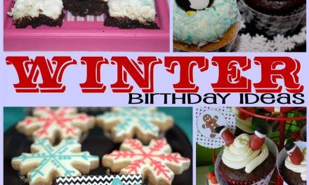 Winter Birthday: DIY Winter Birthday Themes Guest Post