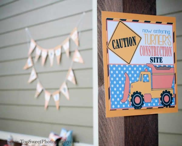 Construction Party: Caution, this party is Under Construction-Mimi's Dollhouse