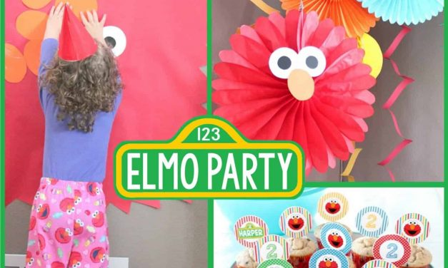 Sesame Street Party: Harper's Pretty Elmo Party
