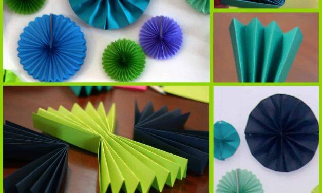 DIY Decor: Paper Starbursts Tutorial