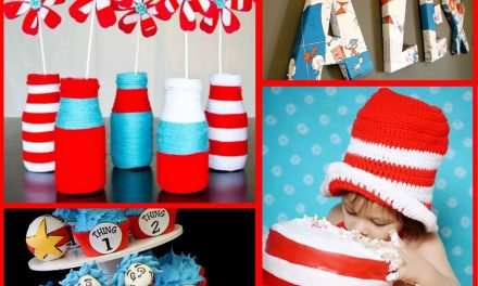 Dr. Seuss Party: Thing 1 and Thing 2, Ideas for you!