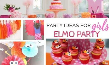 Pretty + Pink Elmo Party Ideas for Girls