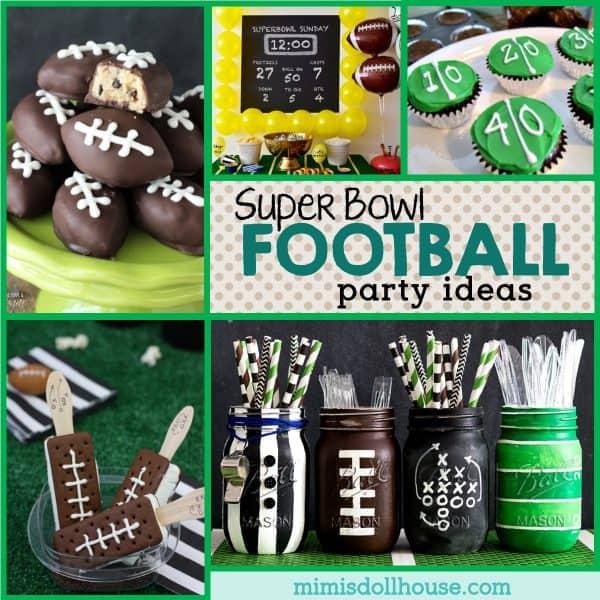 Super Bowl Party Football Party Ideas Mimi S Dollhouse