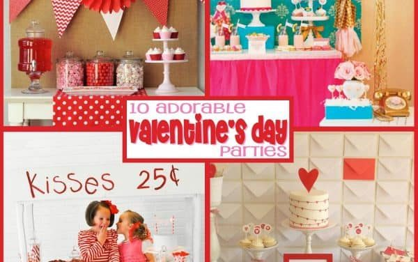 Valentine's Day: 10 Valentine Parties You'll Adore