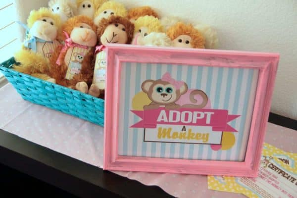 Monkey Party: Emma's Monkey Party-Activities-Mimi's Dollhouse