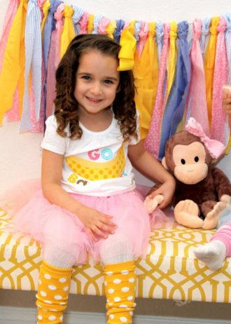 Monkey Party: Curious Emma is Turning Three!-Mimi's Dollhouse