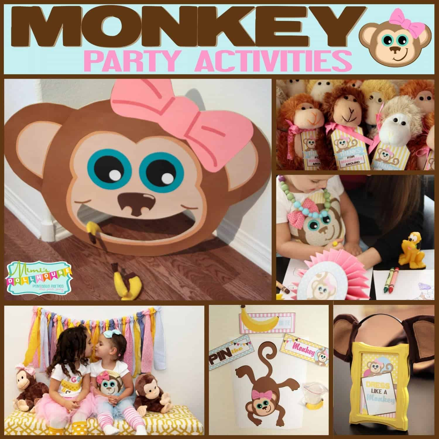 Monkey Party: Emma's Monkey Party-Activites