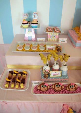 Monkey Party: Curious Emma is Turning Three!-Mimi's Dollhouse