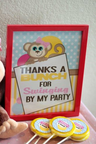 Monkey Party: Emma's Monkey Party-Activities-Mimi's Dollhouse
