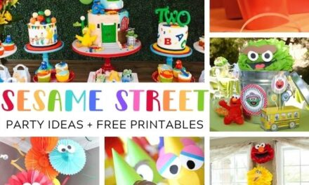 Amazing Sesame Street Party Ideas + FREE Printables
