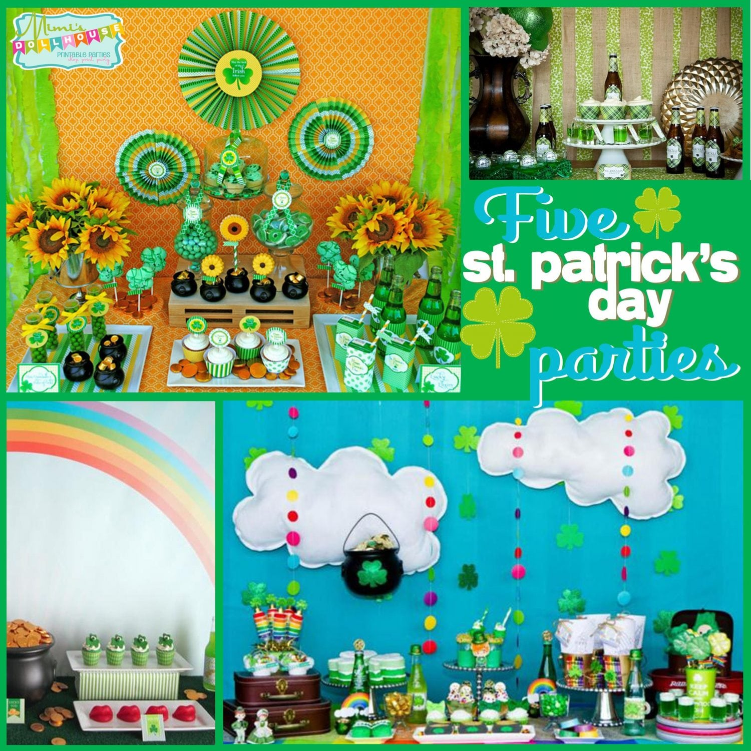 St. Patrick's Day: 5 Lucky St. Paddy's Parties