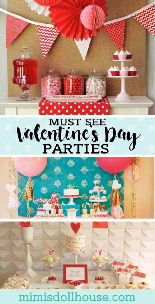 Valentine's Day: 10 Valentine Parties You'll Adore. Love is in the air and on the blog today! I'm sharing 10 Valentine's Day Parties you are sure to fall in love with!!Looking for moreValentine's Day Parties?  #parties #partyideas #holiday #valentinesday #valentines #kidsparties