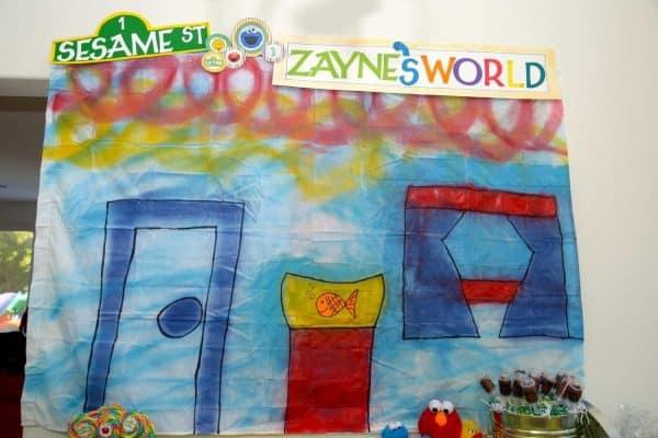 Sesame Street Party: Zayne's World-Mimi's Dollhouse