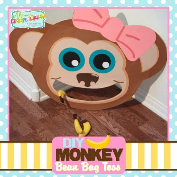 Monkey Party: Bean Bag Toss Tutorial-Mimi's Dollhouse
