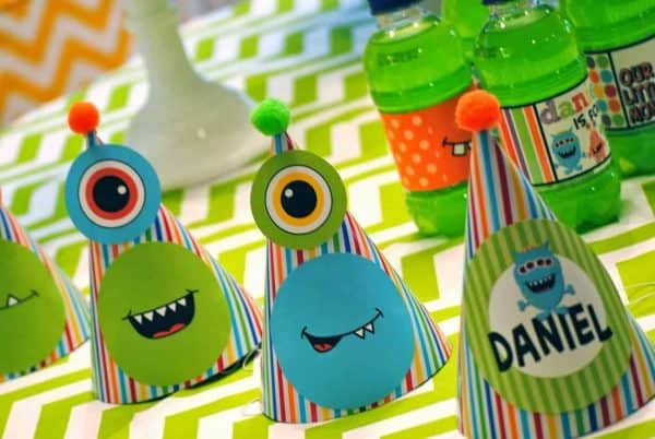 Monster Party: It's a Monster Birthday Bash-Mimi's Dollhouse