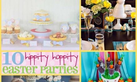 Easter Party: 10 Hippity Hoppity Easter Parties