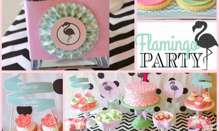 Flamingo Party Ideas: Chic Pink Flamingo Birthday