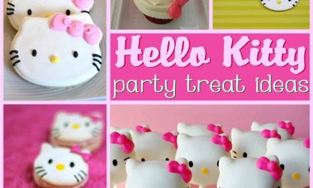 How to make Hello Kitty Cake + Dessert Ideas