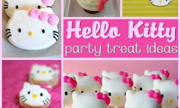 How to make Hello Kitty Cake + Dessert Ideas