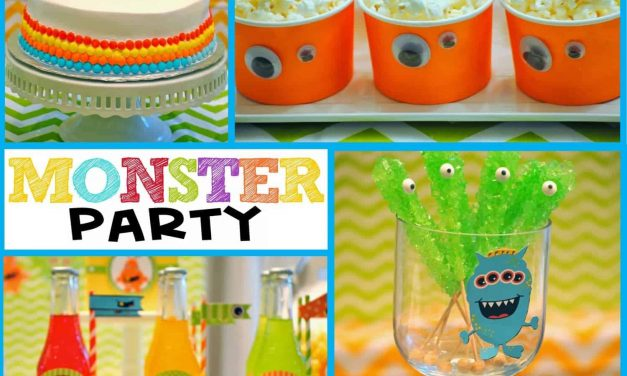 Monster Party: It's a Monster Birthday Bash