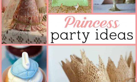 Princess Party: Shabby Chic Princess Party Ideas