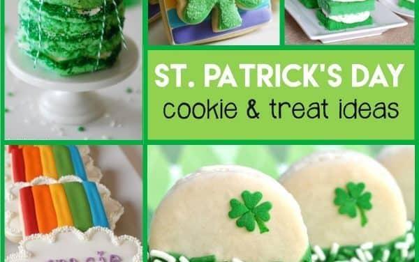 St. Patrick's Day Desserts + Festive Cookies