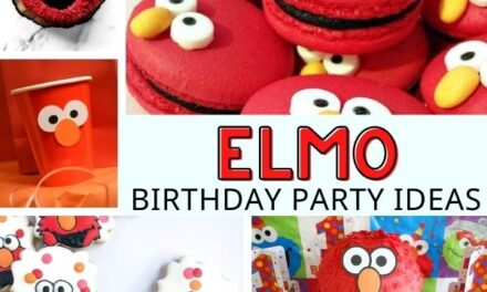17 Ideas for an Elmo Party Kids will LOVE