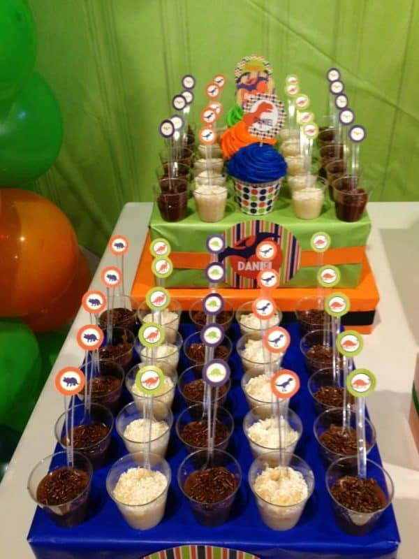 Dinosaur Party: Daniel's ROAR-some Birthday-Mimi's Dollhouse