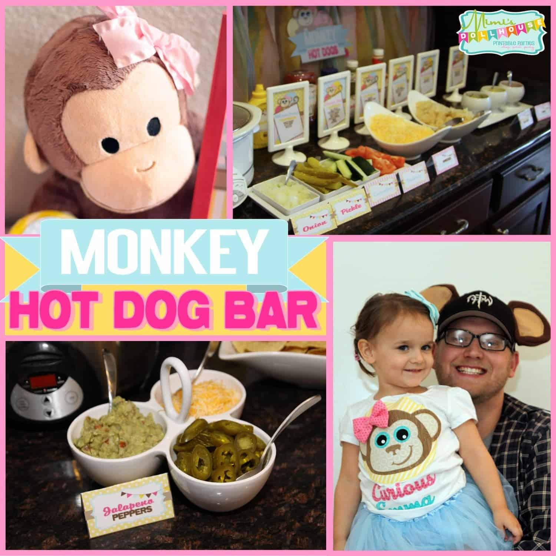 Monkey Party: Hot dog Bar